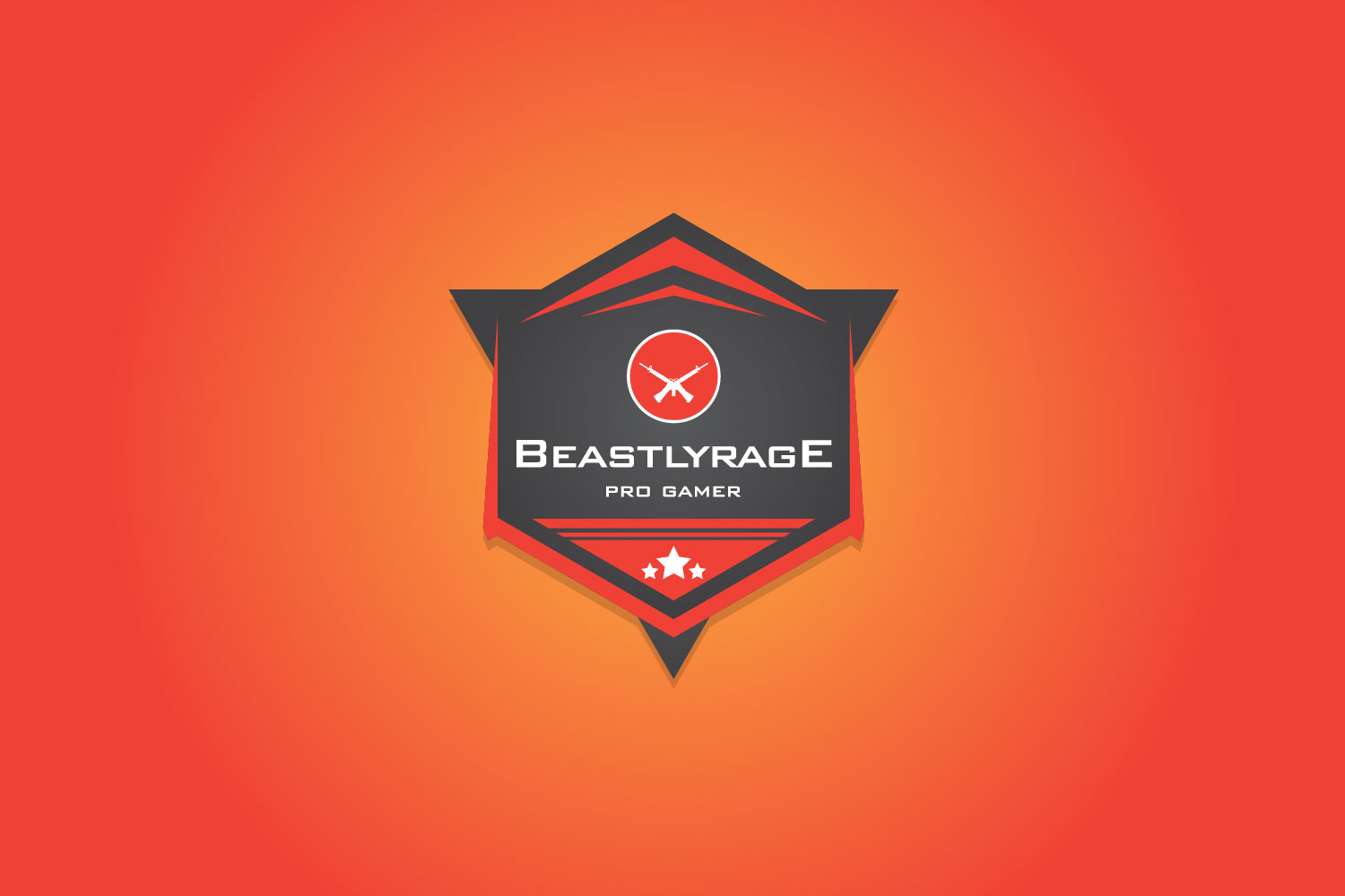 Beastly Rage – Game Logo Design