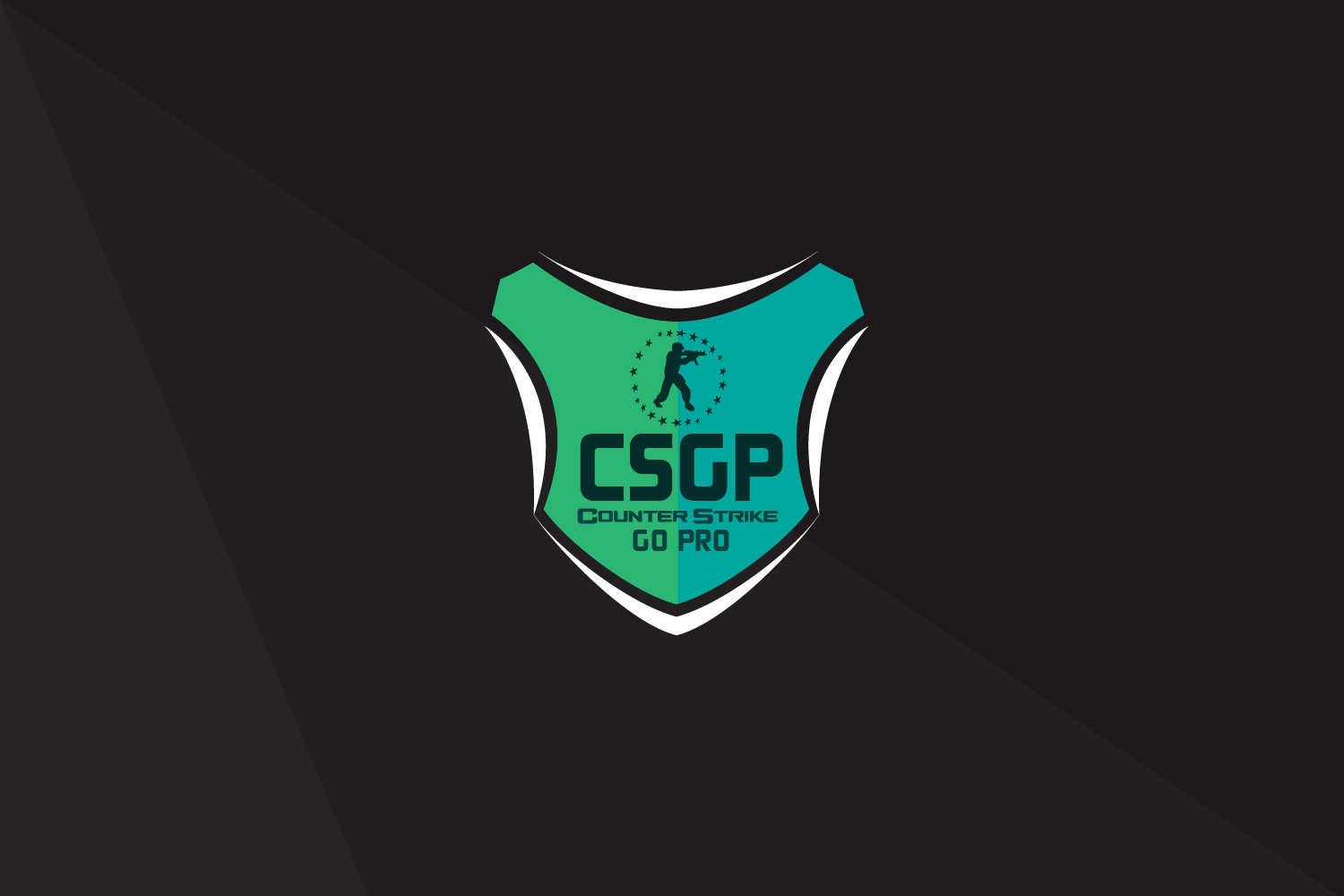 CSGP csgo gaming team logo