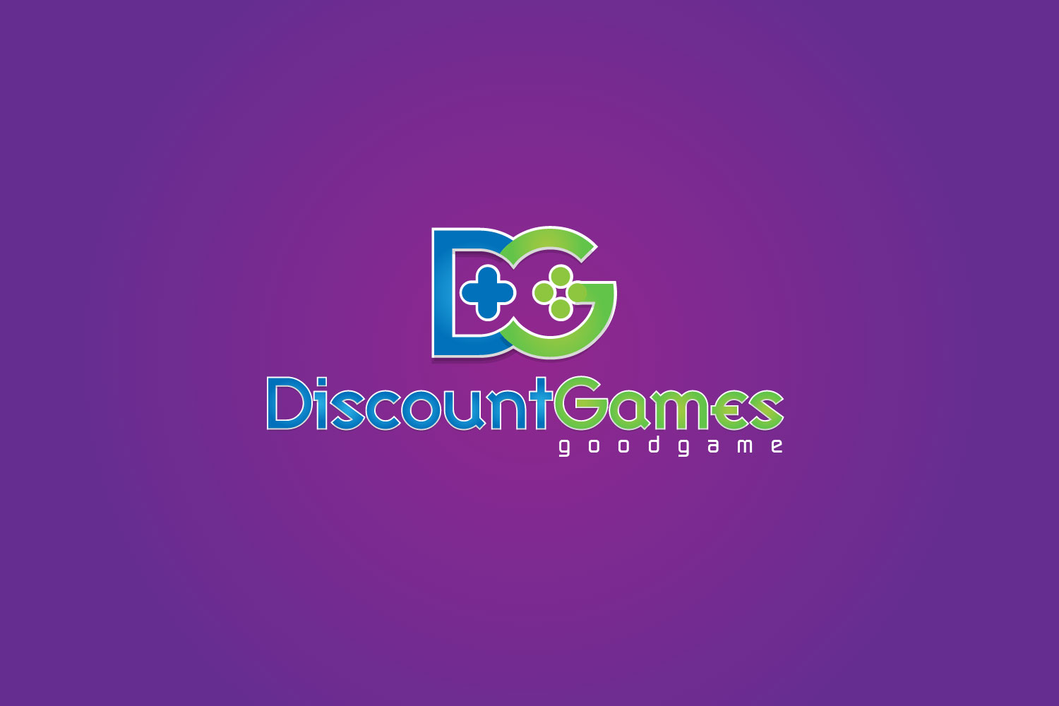 Discounted Games – Gaming Website Logo