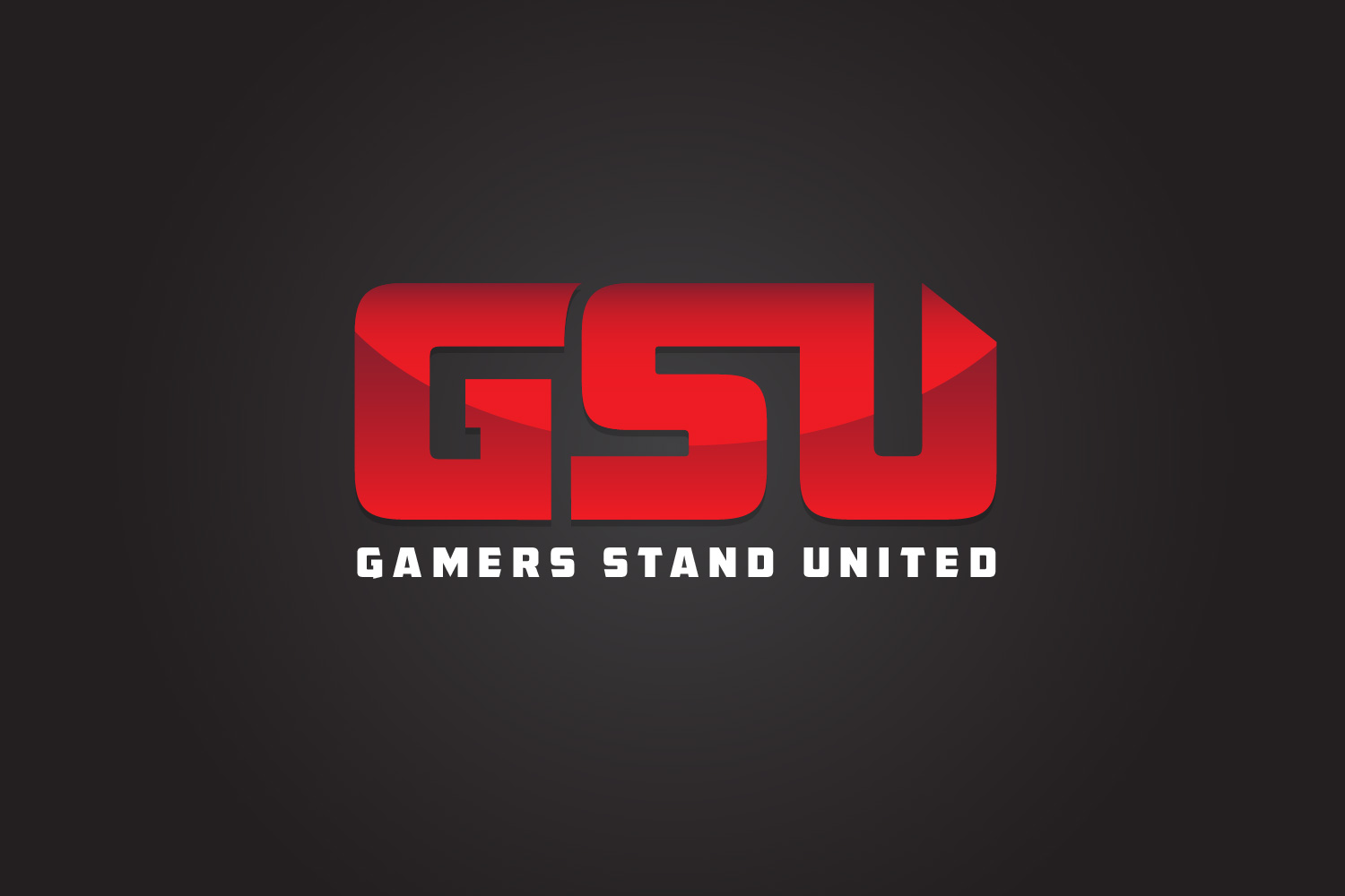 Gamers Stand United – Gaming Clan Logo