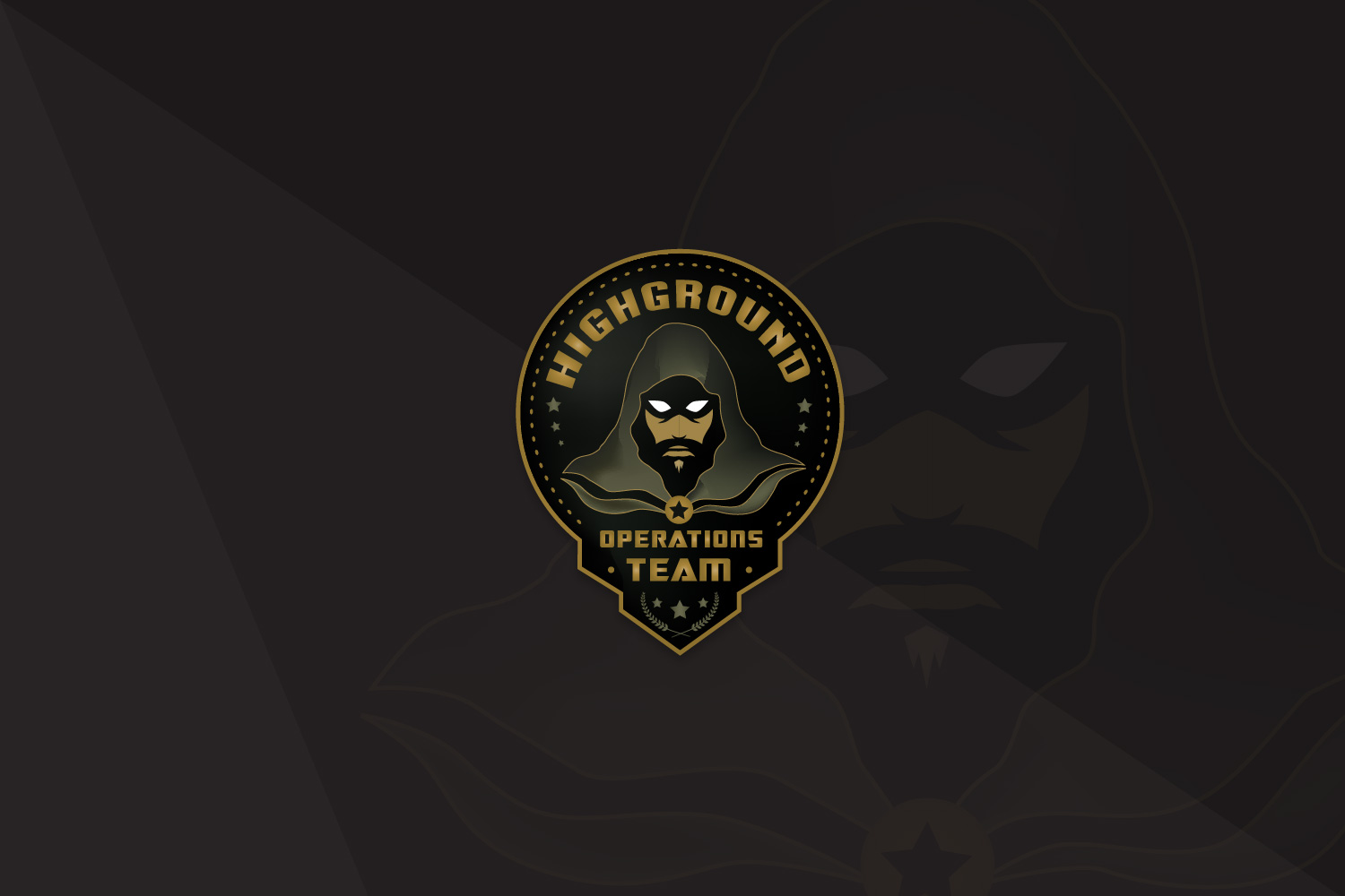 Highground Operations Team Logo
