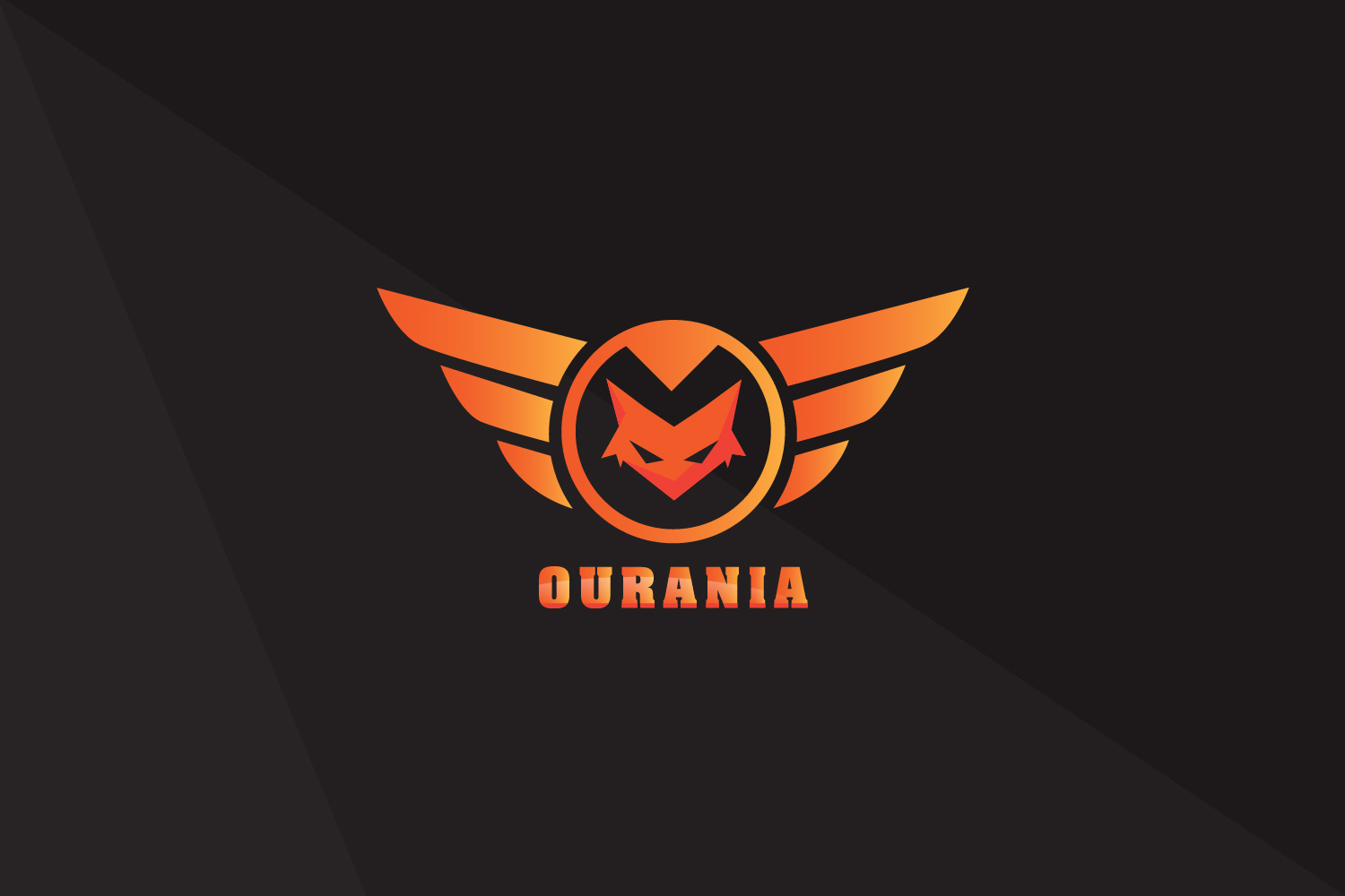 Ourania Gamer Logo Design