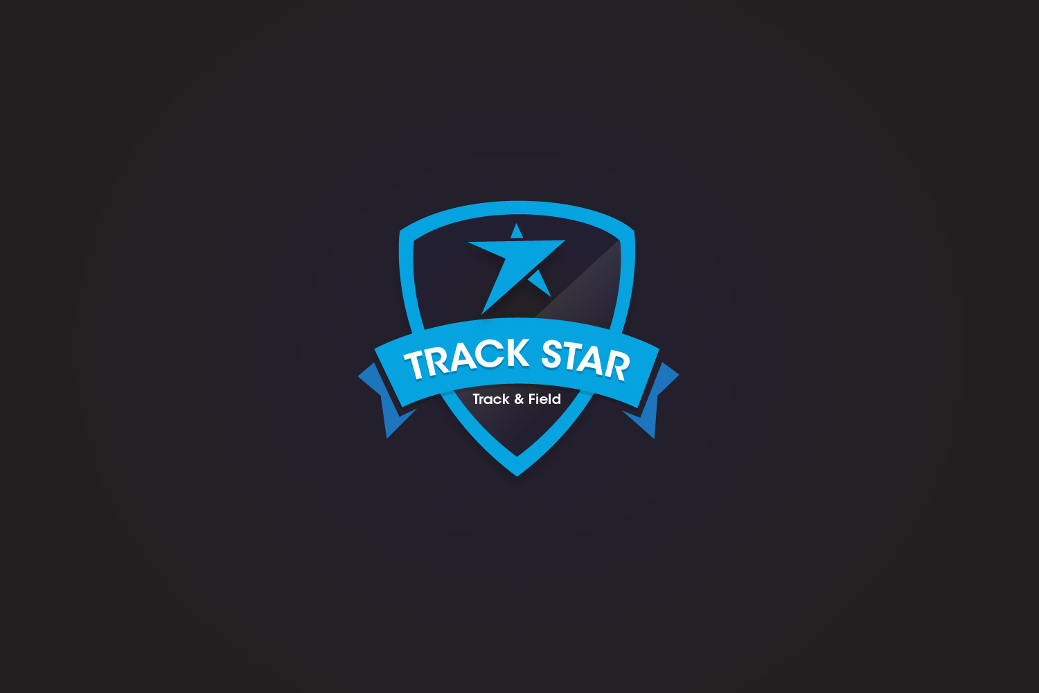 Trackstar Track and Field – Sports Logo Design