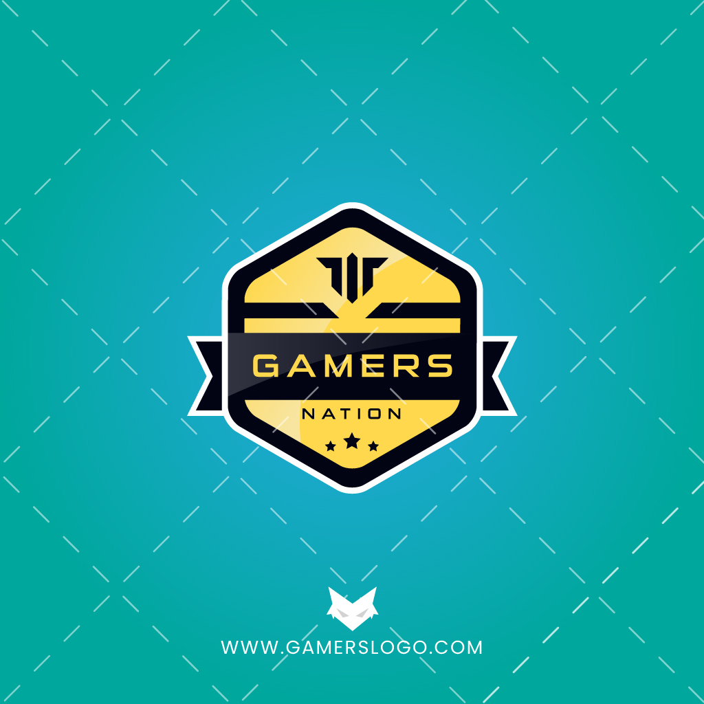 Hexagon Style - Gaming Logo - Esports
